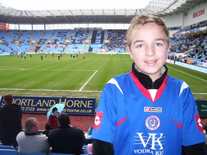 Inside the ground on my first visit back in 2008