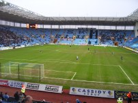 View from our seat in 2008