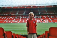 Inside Old Trafford on a ground tour back in 2003
