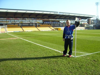 My first visit to Vale Park back in 2008
