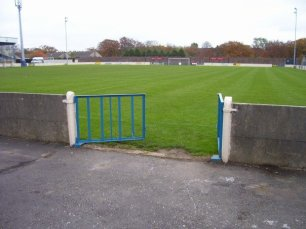 The edge of the pitch