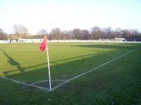 View from the corner of the ground