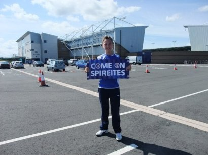 Arriving at the ground