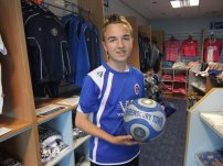 In the club shop