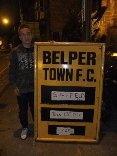 Belper Town's next match is Sheffield