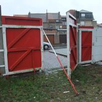 An open gate