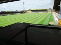 A view from the back corner of the York Street Stand