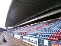 We sat in the upper tier of this stand