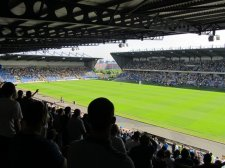 View from the back corner of the away end