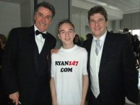2011 Snooker Legends at the Crucible Theatre (with Cliff Thorburn)