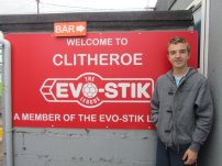 Clitheroe play in the Evo Stik Leage