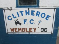 Clitheroe reached the FA Vase Final in 1996, losing 3-0 to Brigg Town