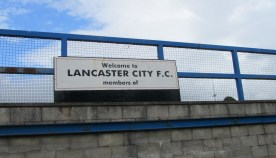 Lancaster City FC Sign