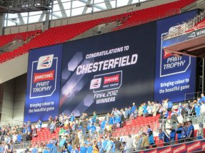 Chesterfield win the competition for the first ever time