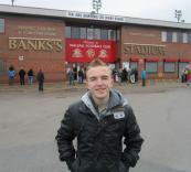 Outside the Bescot Stadium