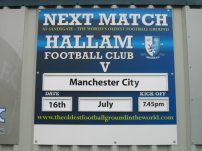 Next match at Hallam FC sign