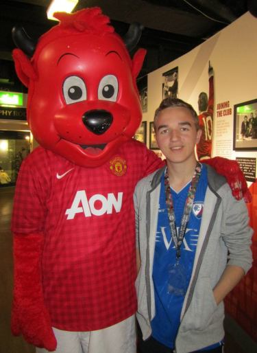 with Fred the Red!