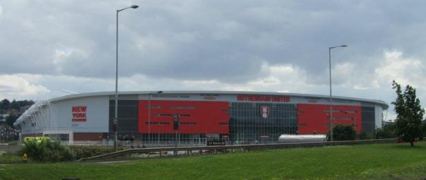 Our first view of the New York Stadium