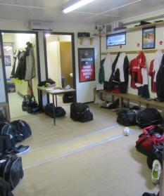 The home dressing room