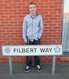 Filbert Way, the area where the new stadium stands