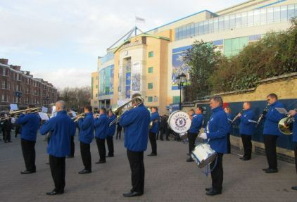 The Chelsea brass band