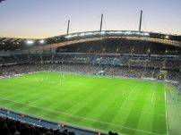 The Etihad Stadium, home of the Premier League champions