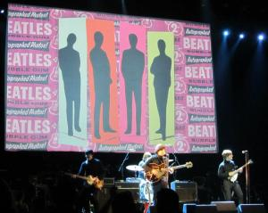 The Bootleg Beatles play some of the group's early hits