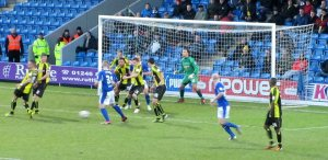 Chesterfield go in search of the equaliser