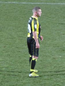 Billy Kee is a late substitution for Burton