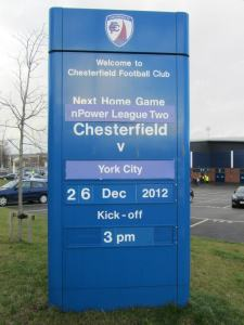 York City make their first visit to the Proact Stadium