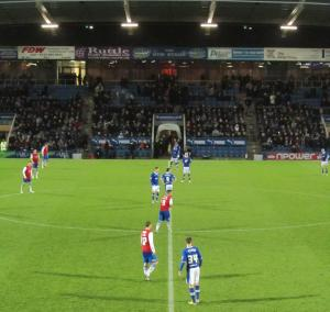 Chesterfield get the second half underway