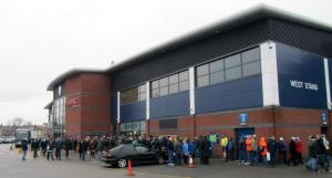 The queue for tickets for the highly anticipated Boxing Day fixture