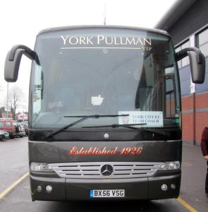 The York team coach