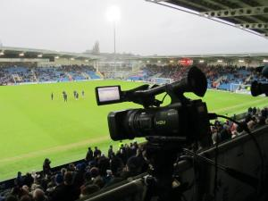 The camera in the TV gantry