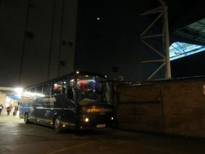 The visitors players head back to Bristol with all 3 points