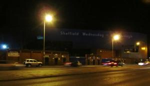 Hillsborough at night