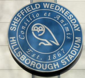 The badge above the main entrance