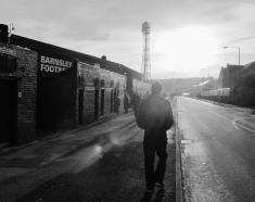 My first game at Barnsley in 2013