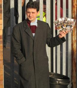 The Burnsley fanzine seller