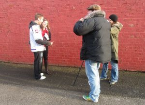 Two more Reds fans face the cameras