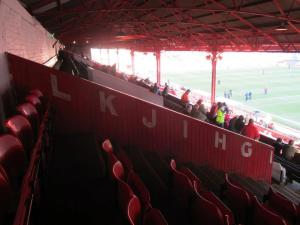 The top tier of the West Stand