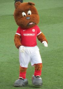 Toby Tyke, the Barnsley mascot