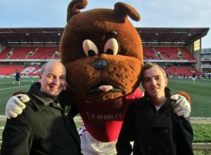Me and my Dad with Toby Tyke!