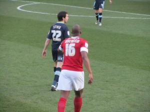 Brian Stock and Marlon Harewood