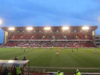 Oakwell is all lit up