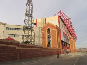 The back of the North Stand