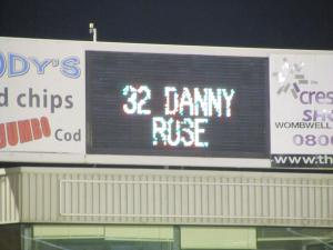 Danny Rose scores the first goals just 3 minutes after being brought on