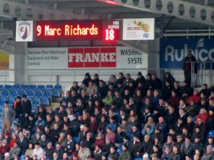 Marc Richards is the scorer