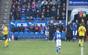 Chesterfield boss Paul Cook makes a change