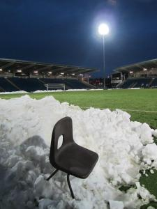 The snow at the Proact